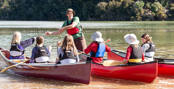 Wilderness Canoe Camps - Quality Adventures in the Top of the South